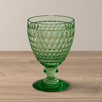 Boston Coloured Wasserglas Green