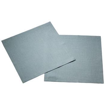 Textil Uni TREND Serviette bluefox, 40 x 40 cm