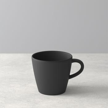 Manufacture Rock Kaffeetasse, schwarz/grau, 10,5 x 8 x 7,5 cm