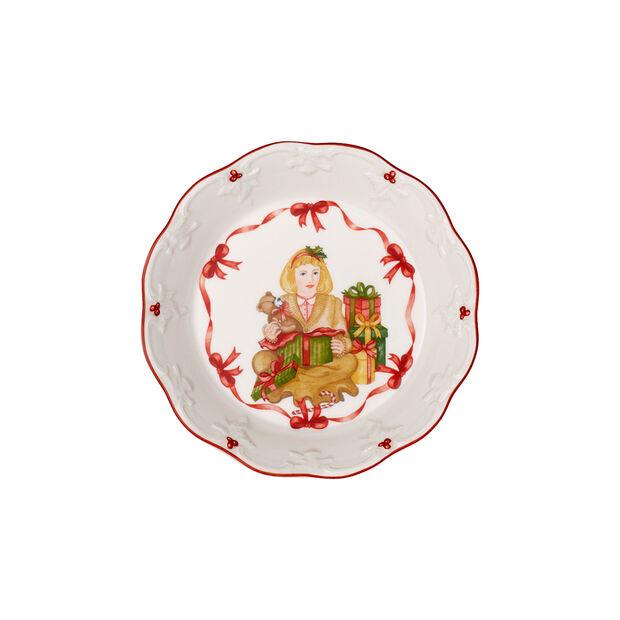 Toy's Fantasy kleine Schale Geschenke auspacken, rot/bunt, 16,5 x 16,5 x 3 cm, , large