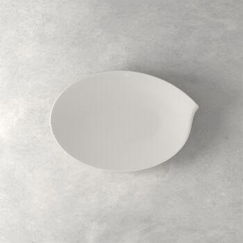 Flow ovale Platte 36 cm