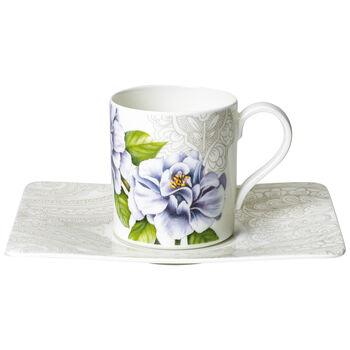 Quinsai Garden Kaffeetasse mit Untertasse 2tlg.