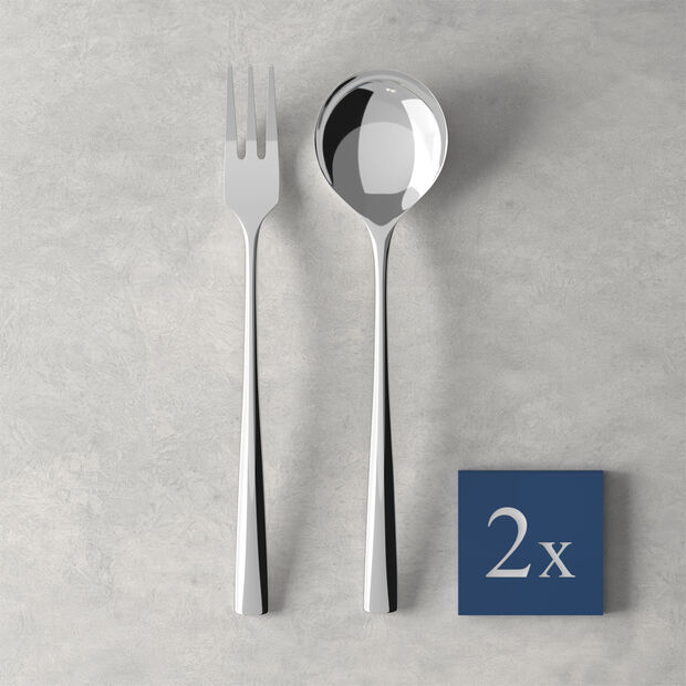 Daily Line Specials Spaghetti-Set 4tlg.,2 Löffel & 2 Gabeln 265x85x30mm, , large