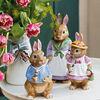 Bunny Tales große Figur Anna, 10,5 x 11 x 22 cm, rose/braun, , large