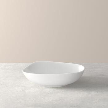 Organic White tiefer Teller, weiß, 20 cm
