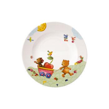 Hungry as a Bear Kinderteller flach 21,5x21,5x1,5cm