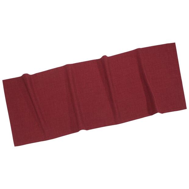 Textil Uni TREND Tischläufer bordeaux 50x140cm, , large