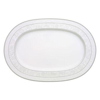 Gray Pearl Platte oval 41cm