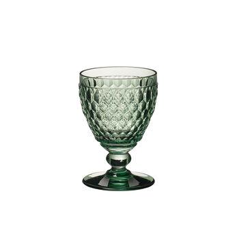 Boston Coloured Weißweinglas Green