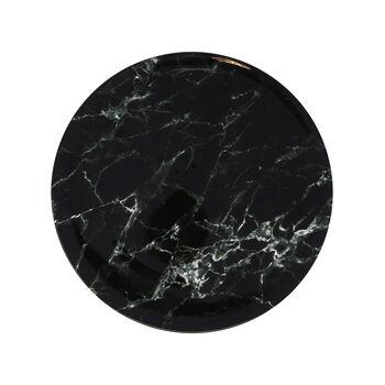 Marmory Speiseteller Black, 27x27x1,5cm