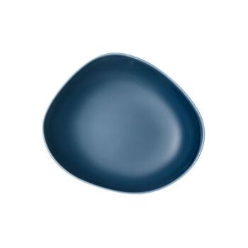 Organic Turquoise tiefer Teller, türkis, 20 cm