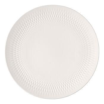 Manufacture Collier Schale, weiß