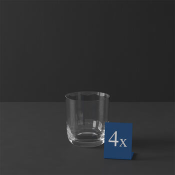 La Divina Whiskyglas, 4 Stück