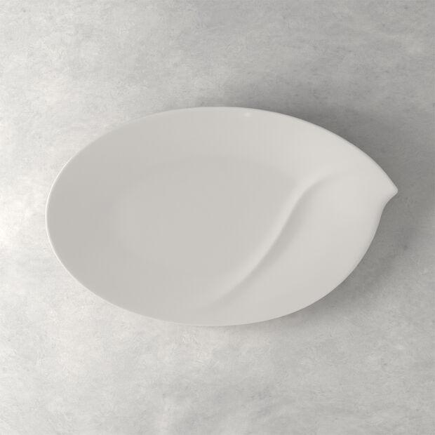 Flow ovale Platte 47 cm, , large