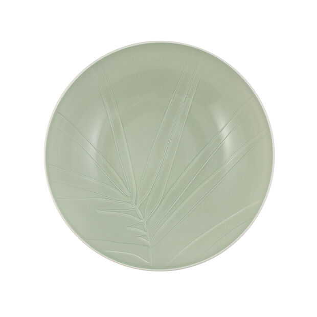 it's my match Servierschüssel Leaf, 26x6,5 cm, Mineralgrün, , large