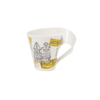 Cities of the World Kaffeebecher mit Henkel Amsterdam