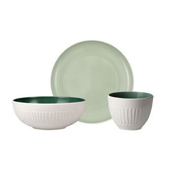 like.by Villeroy & Boch it's my match mineral Single Breakfast Set, 3tlg