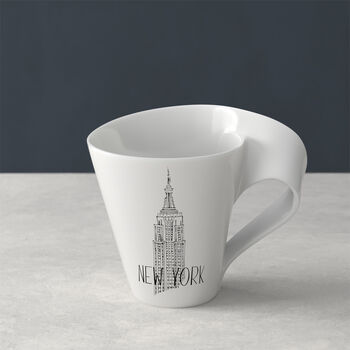 Modern Cities Becher mit Henkel New York