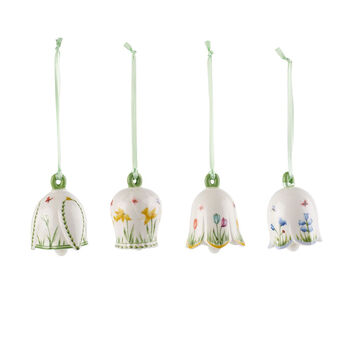 New Flower Bells Ornamente-Set, 4tlg