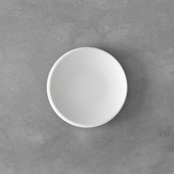NewMoon Brotteller, 16 cm, Weiß