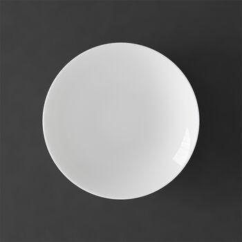 MetroChic blanc Suppenteller, Durchmesser 20 cm, Tiefe 5 cm, Weiß