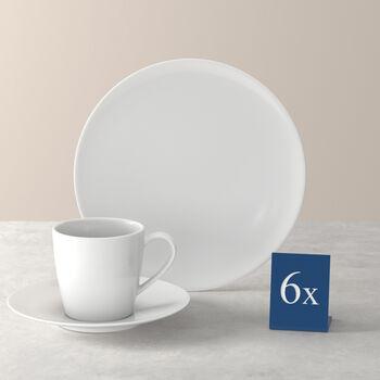 Voice Basic Kaffee-Set, weiß, 18-teilig