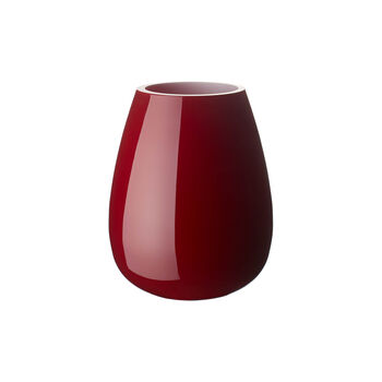 Drop kleine Vase Deep Cherry