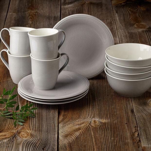 Color Loop Stone Frühstücks-Set, stein, 12-teilig, , large