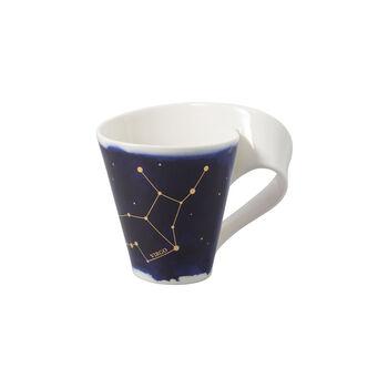 NewWave Stars Becher Jungfrau, 300 ml, Blau/Weiß