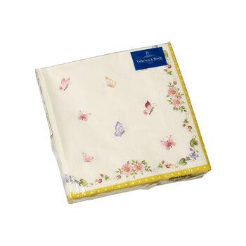 Oster Accessoires Servietten, Schmetterling, 25 x 25 cm, 20 Stück
