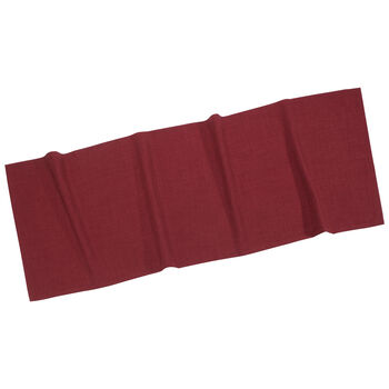 Textil Uni TREND Tischläufer bordeaux 50x140cm