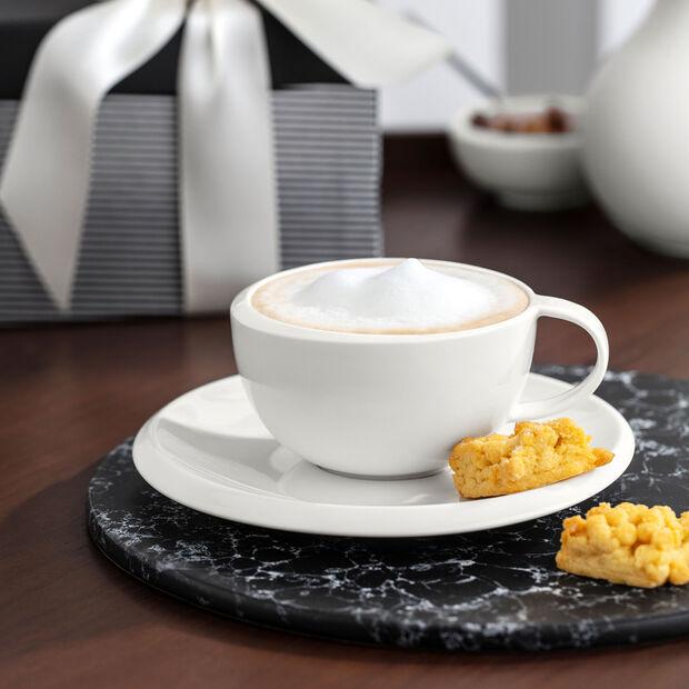 NewMoon Untertasse für Kaffeetasse, Weiß, , large
