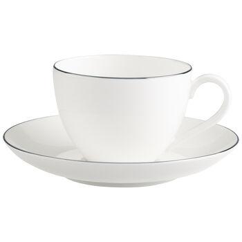 Anmut Platinum No.1 Kaffeetasse mit Untertasse 2tlg.