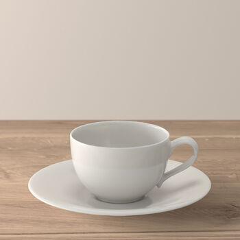 New Cottage Basic Kaffeetasse mit Untertasse 2-teilig