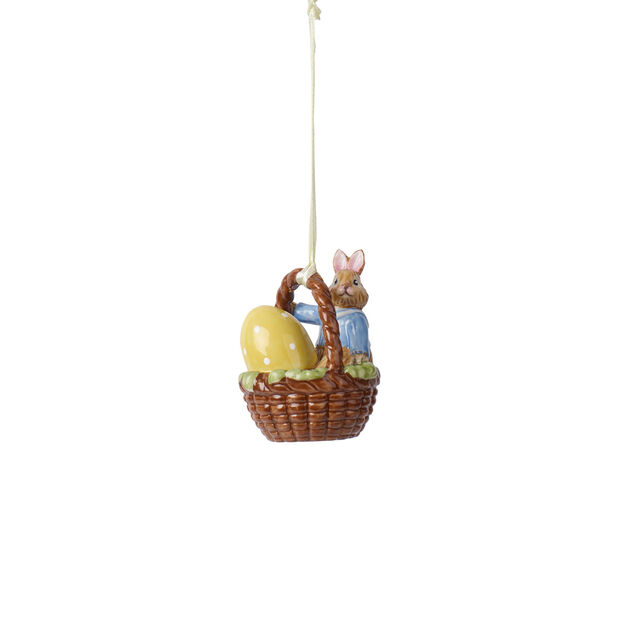 Bunny Tales Ornament-Korb Max, , large