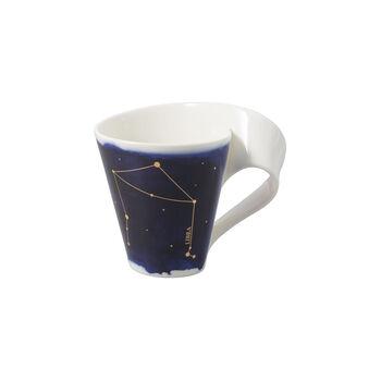 NewWave Stars Becher Waage, 300 ml, Blau/Weiß
