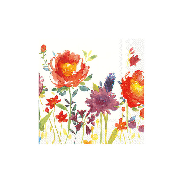 Papier Servietten Anmut Flowers,  33 x 33cm, 20 Stück, , large