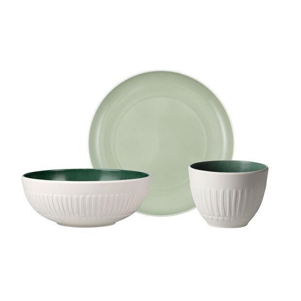 like.by Villeroy & Boch it's my match mineral Single Breakfast Set, 3tlg, , large