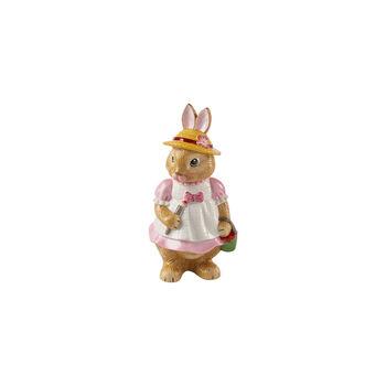 Bunny Tales große Figur Anna, 10,5 x 11 x 22 cm, rose/braun