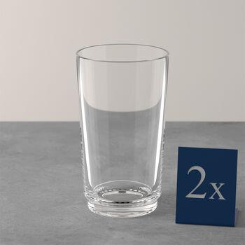 it's my match Longdrink-Glas, klar, 2 Stück