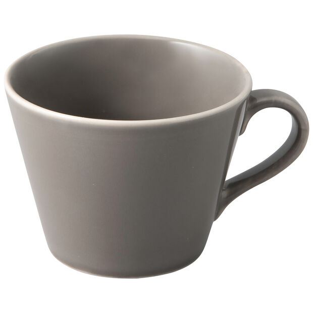Organic Taupe Kaffeetasse, taupe, 12 x 9,5 x 7 cm, , large