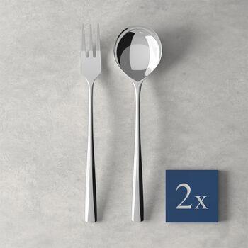 Daily Line Specials Spaghetti-Set 4tlg.,2 Löffel & 2 Gabeln 265x85x30mm