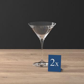 Purismo Bar Cocktail-/Martiniglas 2er-Set