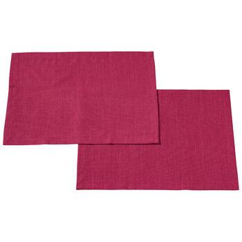 Textil Uni TREND Platzset Red Plum S2 35x50cm
