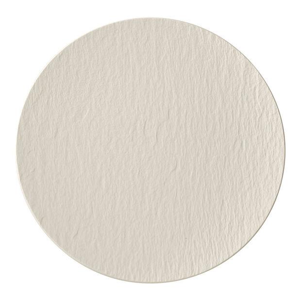 Manufacture Rock blanc Gourmetteller 31,5x31,5x2,5cm, , large