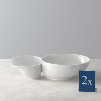 Soup Passion Suppenschale groß Set 2 Stück 27,5x17,3x6,8cm