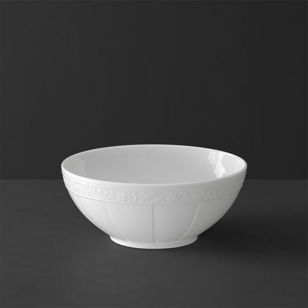 White Pearl Schüssel rund klein, , large