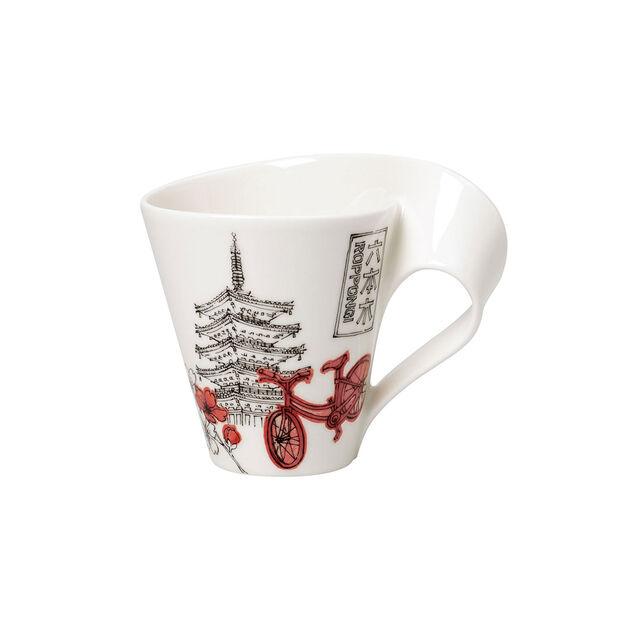 Cities of the World Kaffeebecher mit Henkel Tokyo, , large
