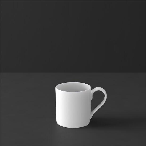 MetroChic blanc Mokka- und Espressotasse, 80 ml, Weiß, , large
