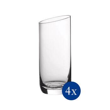 NewMoon Longdrinkgläser-Set , 370 ml, 4-teilig